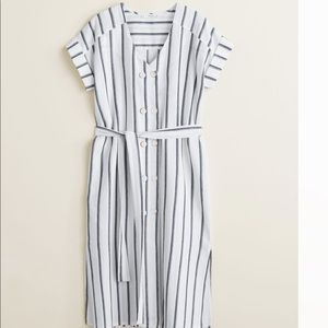 Mango summer Double-breasted dress